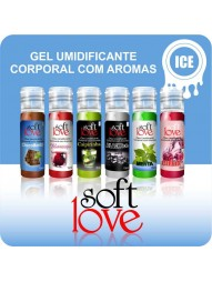 GEL COMESTIVEL SOFT LOVE ICE 15ML - SOFT LOVE